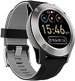 Reloj Inteligente 1 3' Pantalla Táctil Completa Al Aire Libre Impermeable Posicionamiento Bluetooth Multi-Función Deportes Reloj Inteligente Exquisito/Rojo-Gris