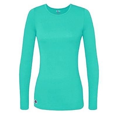 Sivvan Women's Comfort Long Sleeve T-Shirt/Underscrub Tee - S8500 - Sea Glass - S