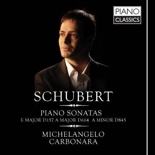 Schubert: Piano Sonatas Vol. I by Michelangelo Carbonara [Piano Gran Coda Yamaha CFIII] (2012-03-29)
