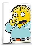 1art1 Die Simpsons - Ralph Pick Bilder Leinwand-Bi