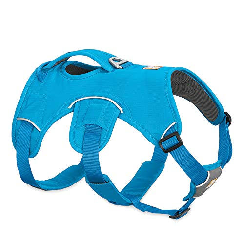 RUFFWEAR, Web Master, Multi-Use Support Dog Harness, Hiking and Trail Running, Service and Working, Everyday Wear, Blue Dusk, Small