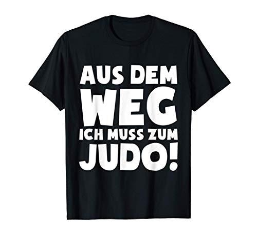 Judo-Fan Judo-Kämpfer Judoka T-Shirt:...