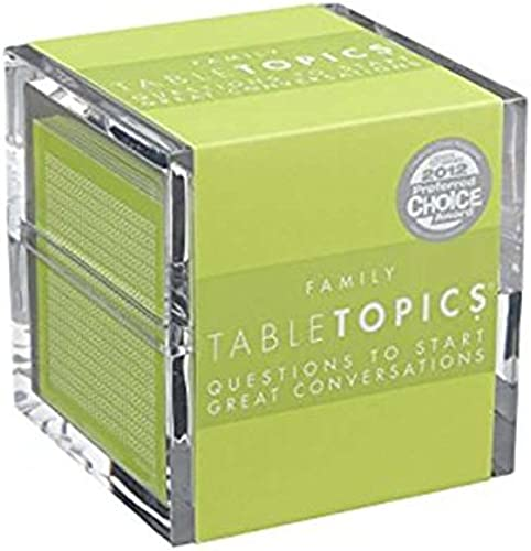 TABLETOPICS Family  Questions to Start Great Conversations by TableTopics