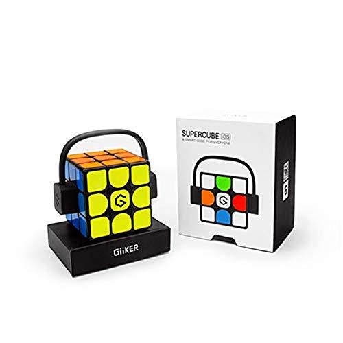 YING El último GiiKER Super Speed Cube i3S, Cubo de enseñanza Inteligente AI, Sincronización de Aplicaciones Bluetooth Juguetes educativos para niños
