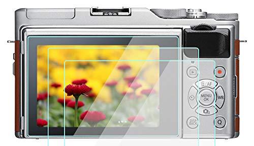 Screen Protector Glass Designed for Fujifilm X-A5 X-A3 X-A10 Camera, WH1916 9H Tempered Glass Anti-Bubble Anti-scratch Ultra-Clear [3-Pack]