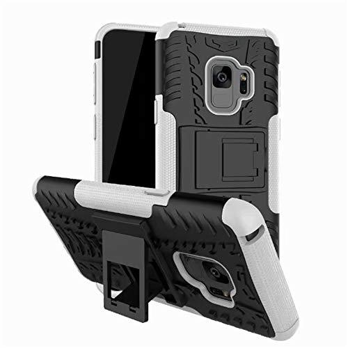 HHF - Carcasa resistente a prueba de golpes para Samsung Galaxy S4 S5 S6 S7 Edge S8 Plus A3 A5 A7 2017 J5 J7 J2 Prime J1 J3 Note 8 5 (color: blanco, material: para S7)