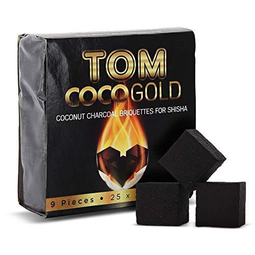 Tom Cococha Shisha Kohle Premium Gold