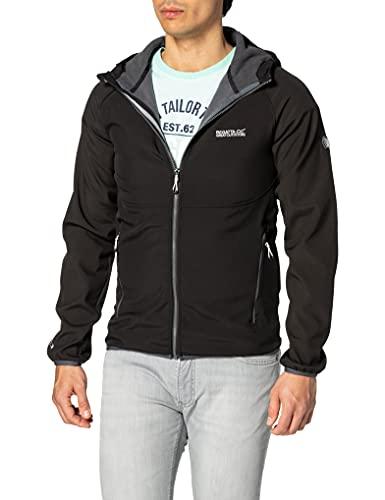 Regatta Herren Arec II Softshelljacke XXL Black/Seal Grey Jacke, 2X-Large