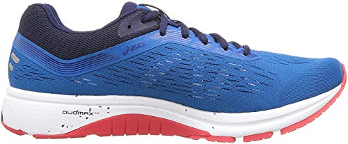 ASICS Men's GT-1000 7 Running Shoes, 12M, Race Blue/Peacoat
