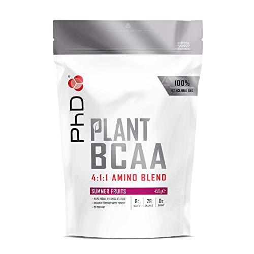 PhD Nutrition Plant BCAA 4:1:1, Summer Fruits, 450 g