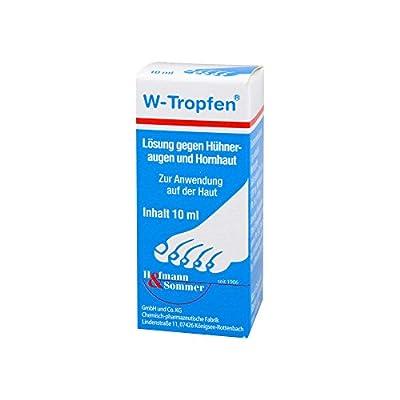 W-TROPFEN Lösung gegen Hühneraugen+Hornhaut