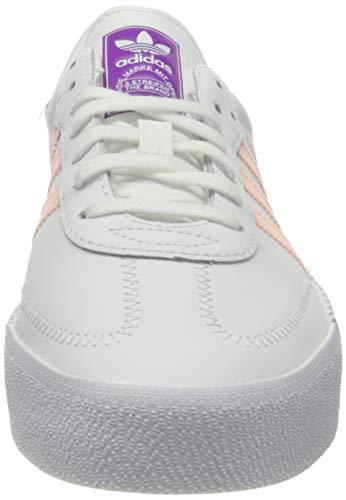 adidas Sambarose W, Zapatillas de Running Mujer, Ftwwht Hazcor Shopur, 40 2/3 EU