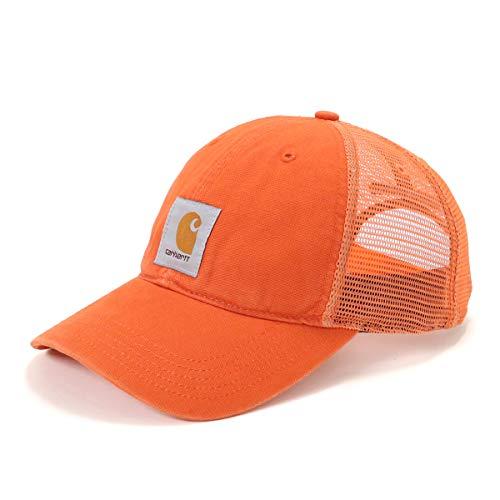 Carhartt Men's Buffalo Cap, Harvest Orange, One Size