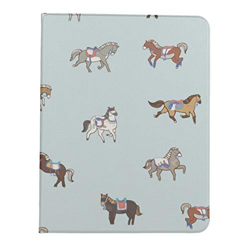 JIUCHUAN Case For Ipad Pro 11 Inch 2nd & 1st Generation 2020/2018 IpadProSlimCase11 Horse Vivildy Running Animal IpadProProtectorCase Support Ipad 2nd Gen Pencil Charging