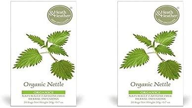 (2 PACK) - Heath&H Nettle Tea| 50 Bags |2 PACK - SUPER SAVER - SAVE MONEY