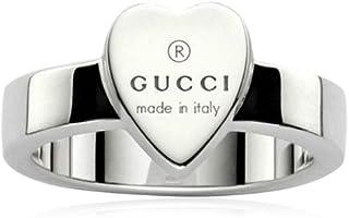 6fac28283 Gucci silver heart TRADEMARK Ring -7 1/4 (US)-O(