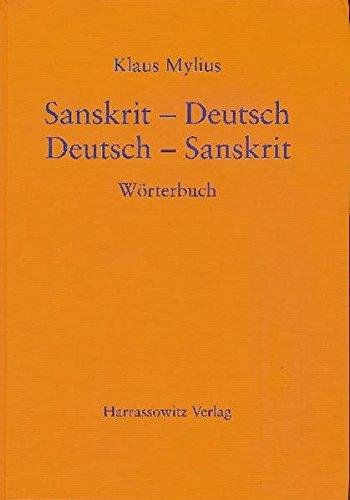 Sanskrit-Deutsch /Deutsch-Sanskrit: Wörterbuch: Worterbuch