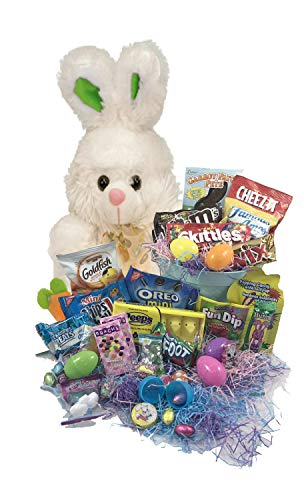 Classic Easter Basket Care Package Campus Survival Kit by