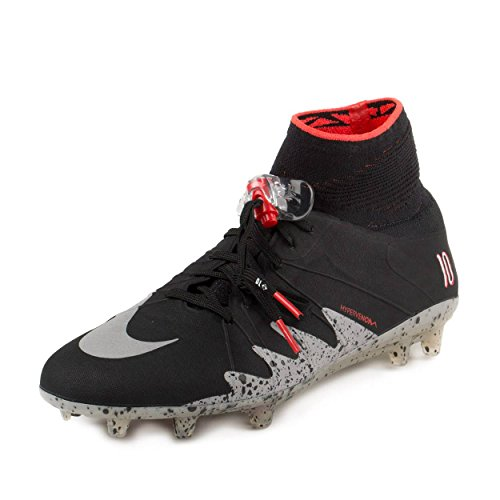 Nike Herren Hypervenom Phantom II NJR FG Fußballschuhe, Schwarz, 42.5 EU
