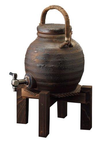 手付サーバー(コルク栓付)陶器・信楽焼焼酎サーバー