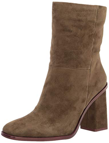 Vince Camuto Women's Dantania Mid Calf Boot, Greek Olive, 9 M