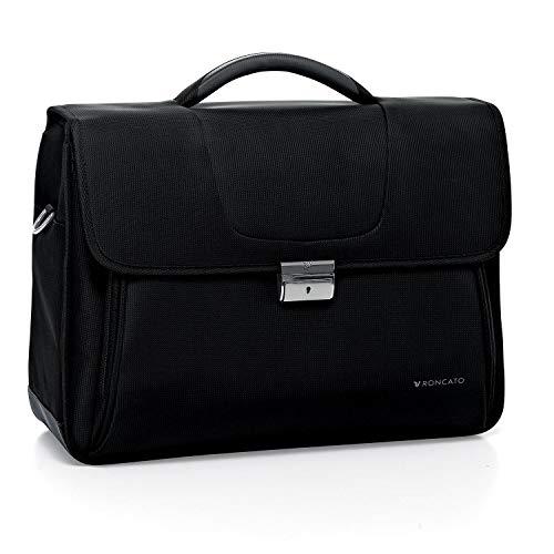 Roncato Bolsa Porta Computador Clio - cm 43 x 31 x 15, Ligero, Organización Interna, Bandolera, Garantìa 2 años