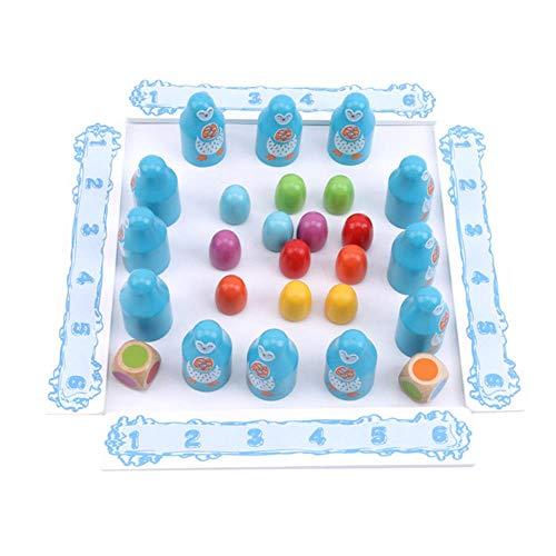 COMPY Puzzle di educazione precoce Giocattoli di Memoria in Legno per Bambini Giochi da Tavolo interattivi Genitore-Figlio Allenamento concentrato sul