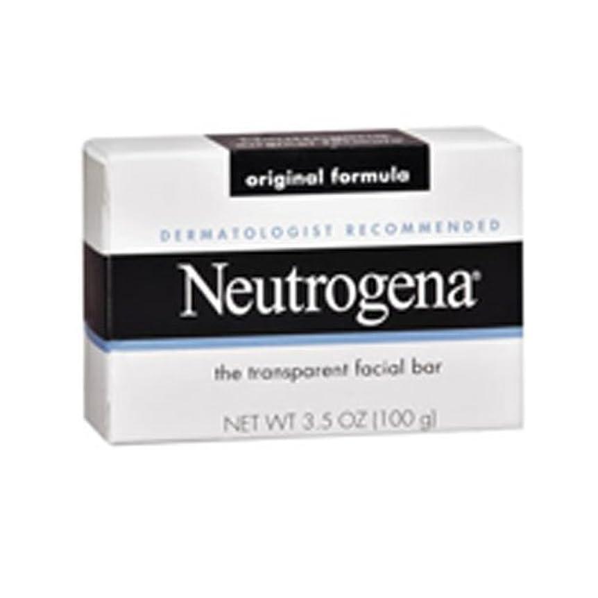 口頭割り当てサスペンド海外直送肘 Neutrogena Transparent Facial Soap Bar, 3.5 oz