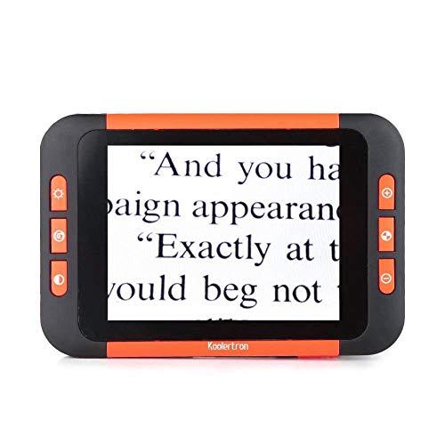 JL 3.5 Zoll LCD Tragbar Video-Digitallupe 2-32Facher Zoom Lupe Arten Farbmodus Elektronische Lesehilfe für Sehbehinderte