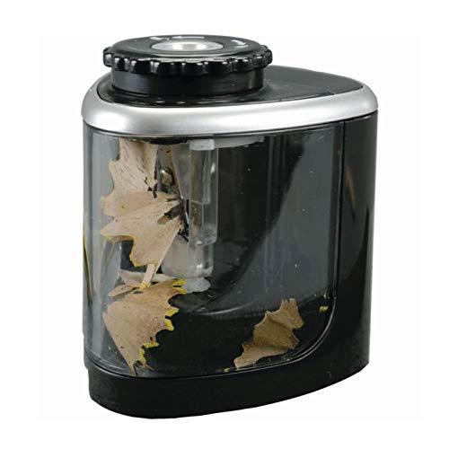 Alassio - Sacapuntas eléctrico, color Negro