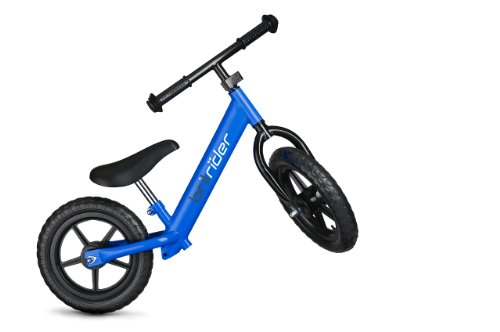 Brilrider Balance Bike for 1-5 Year-Old Toddlers (Blue)