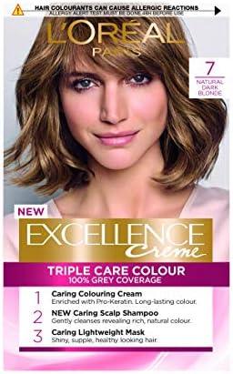 LOreal Excellence - Tinte permanente para cabello 5, color marrón natural