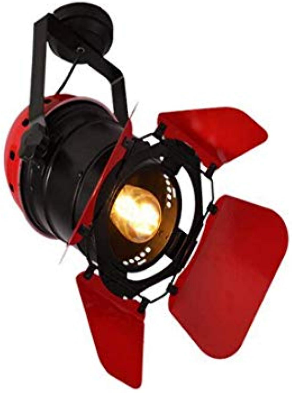 Lichtlight Vintage Ceiling Lights Wall Lights E27 Lamp Holder Loft Industrial Iron Spotlight