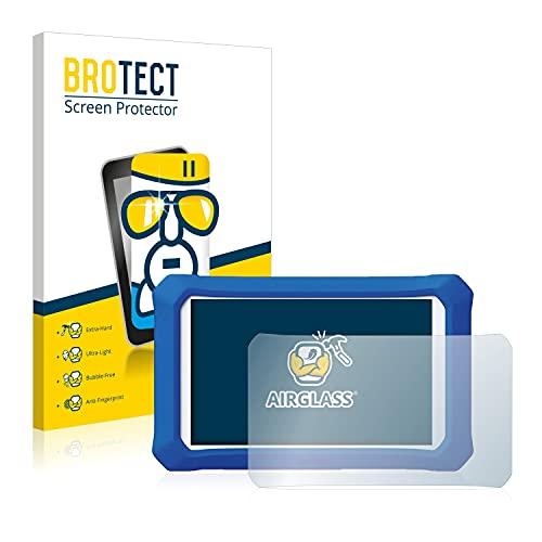 brotect Pellicola Protettiva Vetro Compatibile con Clementoni Clempad X Plus Schermo Protezione, Estrema Durezza 9H, Anti-Impronte, AirGlass
