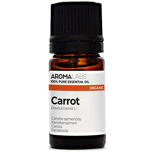 Zanahoria BIO - 5ml - Aceite esencial 100% natural y BIO - calidad verificada por cromatografía - Aroma Labs
