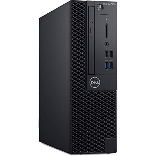 Dell OptiPlex 3070 Small Form Factor Desktop 1TB SSD 5TB HD (Intel Core i9-9900 Processor Turbo Boost to 5.00GHz, 16 GB RAM, 1 TB SSD + 5 TB HD, Win 10 Pro) PC Business Computer