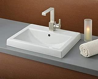 Cheviot Camilla Semi-Recessed Sink | Vitreous China | White