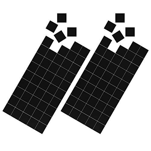 Magnetastico® | 100x selbstklebende Magnetplättchen mit 20x20 mm | Zuschneidbare Magnet-Plättchen mit Klebefläche für Poster, Postkarten, Fotos | Magnete zum Aufkleben für Büro, Küche & zum Basteln