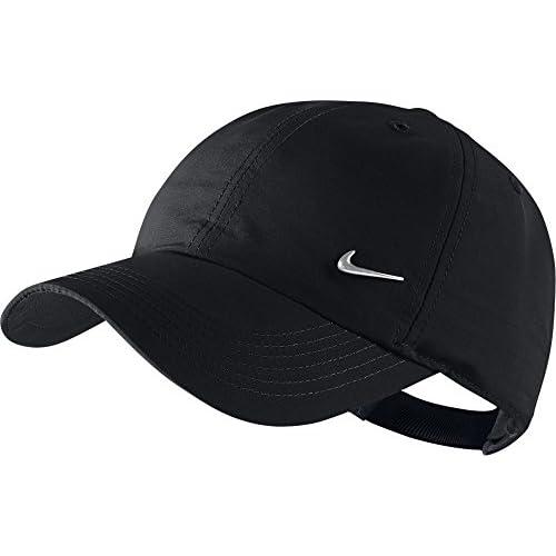 Nike, Cappello Unisex, Nero/Argento, Taglia Unica