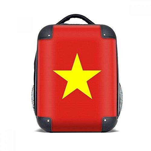 DIYthinker Vietnam National Flag Asien Land Hard Case Schulter Kind-Rucksack-Geschenk 15