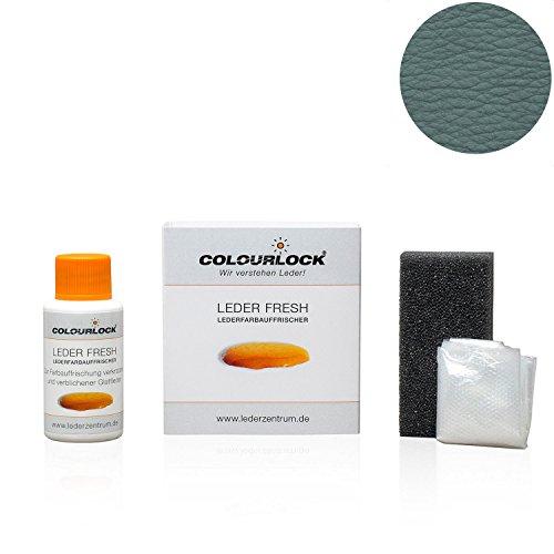 COLOURLOCK® Leder Fresh Tönung Mini 30 ml F-Standard-Farbe F037 grau (Lederfarbe, Farbauffrischung), beseitigt Schrammen, Ausbleichungen und Abnutzung an Leder und Kunstleder