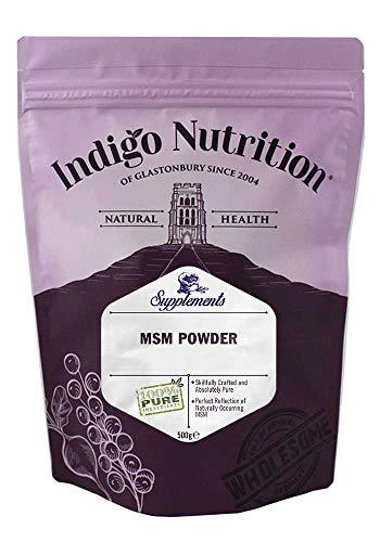 Indigo Herbs MSM in Polvere (500g)