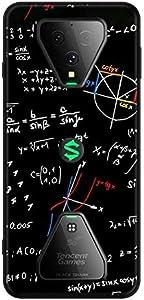 Xiaomi Black Shark 3 Silicone Soft Edge Drop E-Sports Game Phone Case Cover - Black Color Formula