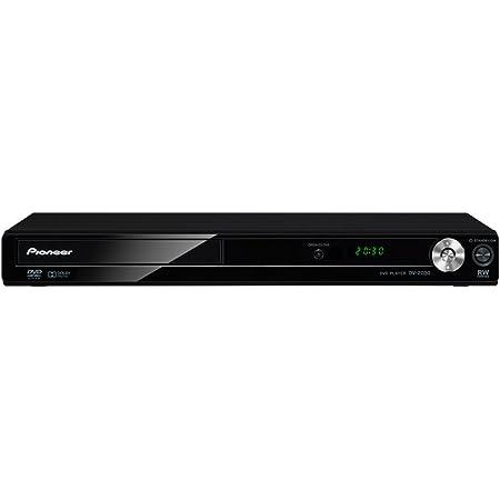 Pioneer DV-2030 DVDプレーヤー 音声付き早見再生機能搭載 ブラック DV-2030