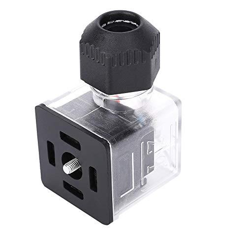 IP67 DC24V / 12V Wasserdichter Stecker, Zubehör für Magnetventile Wasserventil für Magnetventil(12V)