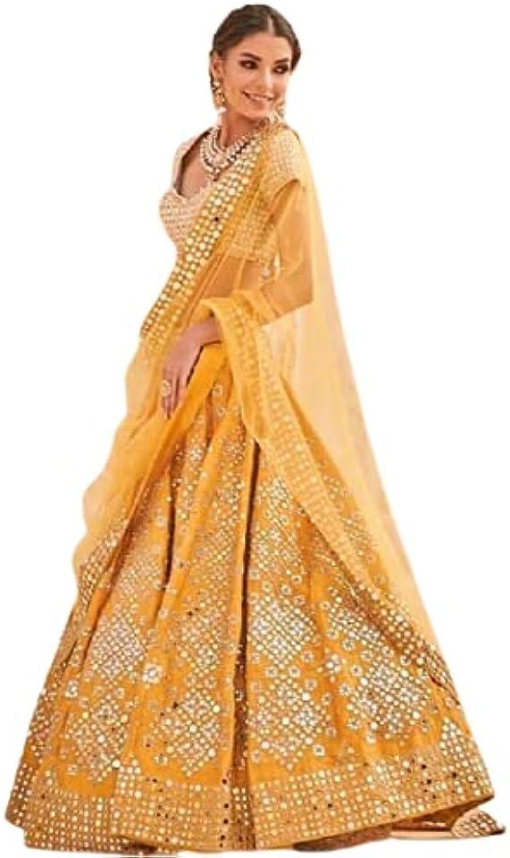 Banglory Silk Lehenga Choli Designer Lehenga Choli Marriage Lehenga choli Bollywood Lehnega Indian Festival Lehenga Choli for woman Indian Traditional Wear Party Wear