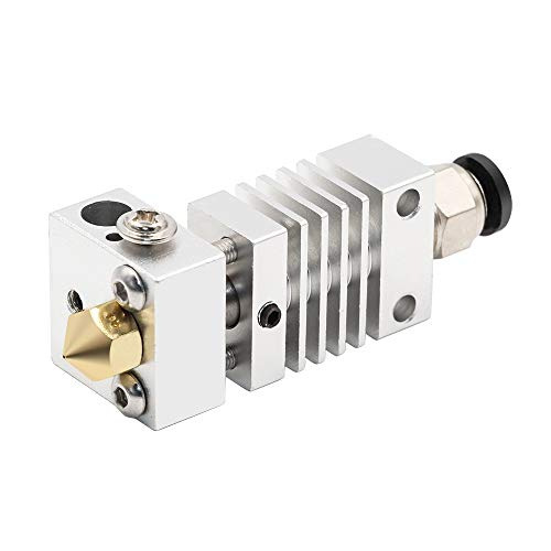 LMY-PULLEY, 1pc CR10 Hotend Extruder Long Distance Titanlegierung Thermische Wärmereduzierung Throat for Creality CR10 3D-Drucker Micro Schweizer ( Color : Silver , Size : 4.1mm Bore(Upgraded) )