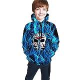 Onepaul Children's H2o De-lirious Casual Hoodies Sweatshirt 3D Print Tops Fashion Hoodies for Kids/Youth/Boys/Girls Pullover Sweatshirt for Outdoor