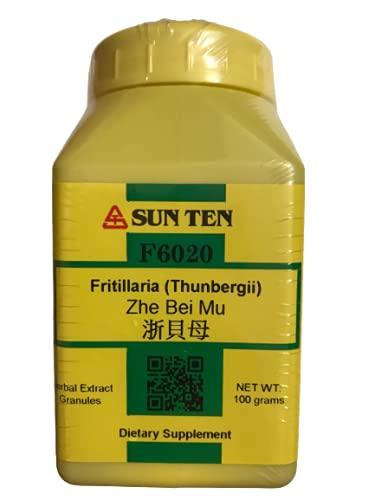 Sun Ten - Fritillaria THUNBERGII Zhe Bei Mu Concentrated Granules 100g F6020 by Baicao