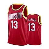 G&F Camiseta De Baloncesto Swingman Fans Jersey Houston Rockets #13 James Harden Bordado Swingman De Malla Partidarios Tops (Size : M)